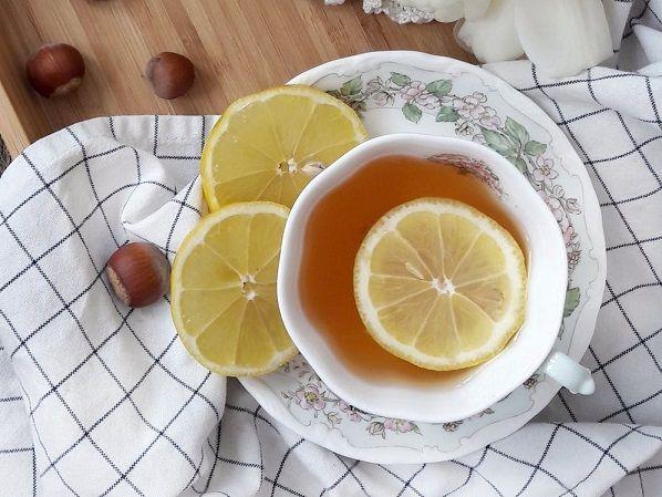 cytryna do herbaty