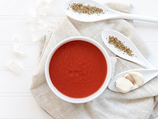 Zupa z pomidora i papryki