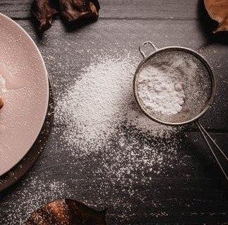przesiewanie mąki