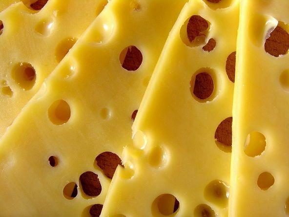zeschnięty ser