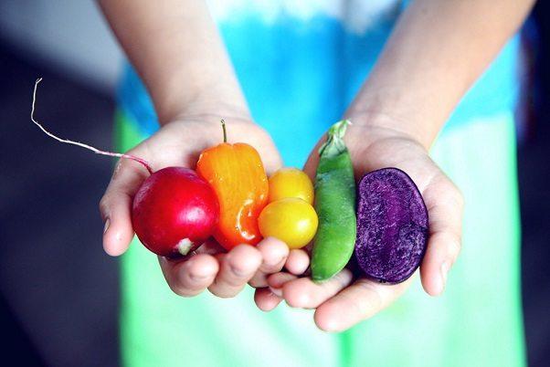 Zwiędłe warzywa