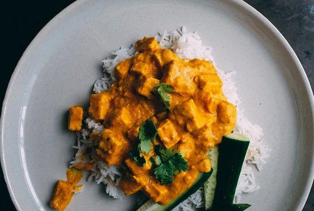 Orientalny kurczak curry