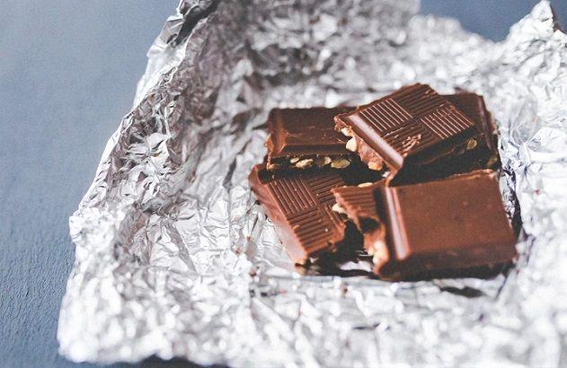 czekolada biały nalot