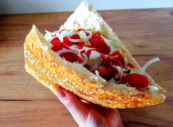 kebab w domowej bułce