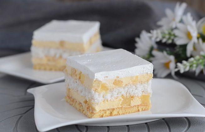 ananasowe ciasto