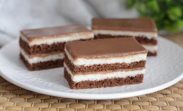 ciasto z mlecznej czekolady
