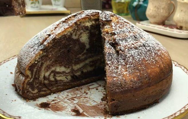 puszyste i wilgotne ciasto