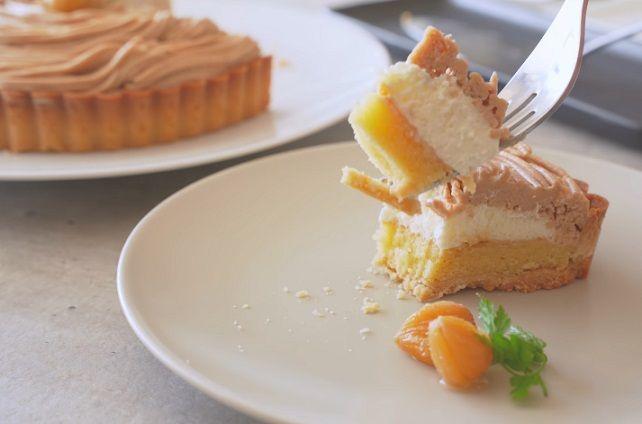 tarta mont blanc