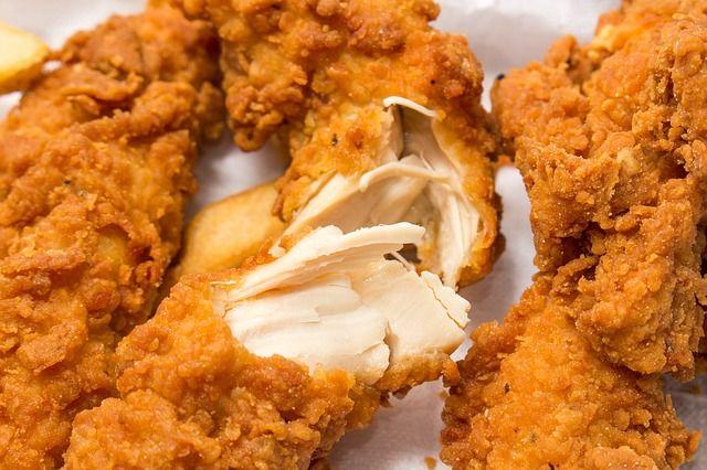 Kawałki kurczaka w niezwykłej panierce