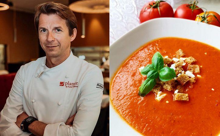 Karol Okrasa zupa pomidorowa