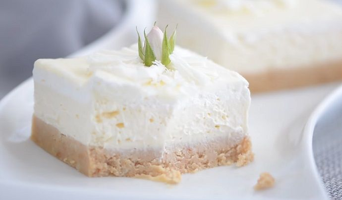 Kremowe ciasto bez pieczenia