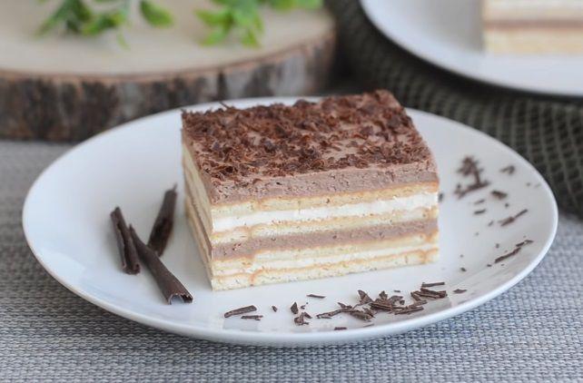 Ciasto bez pieczenia w 15 minut