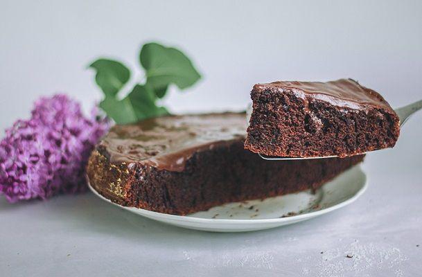 Ciasto czekoladowe z patelni w 10 minut