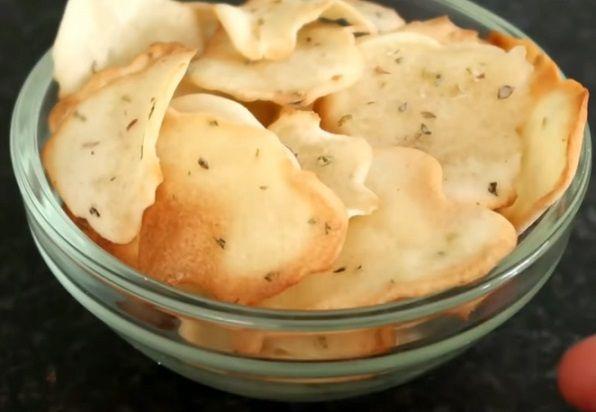 Chrupiące chipsy bez ziemniaków