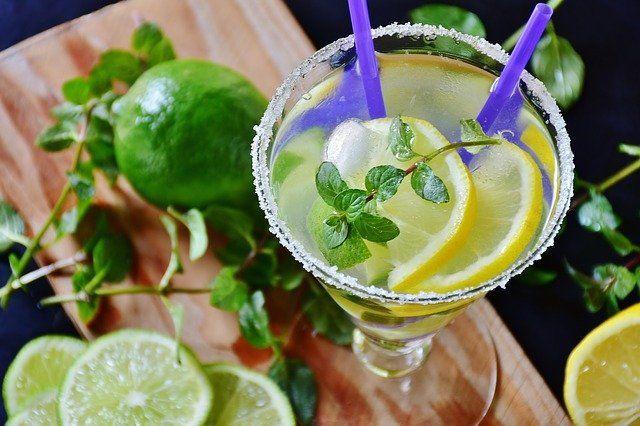 Lemoniada z kiszonych cytryn