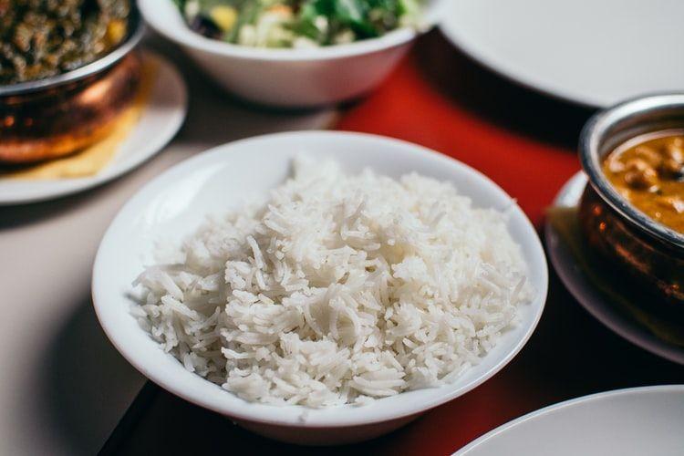 przesolony ryż