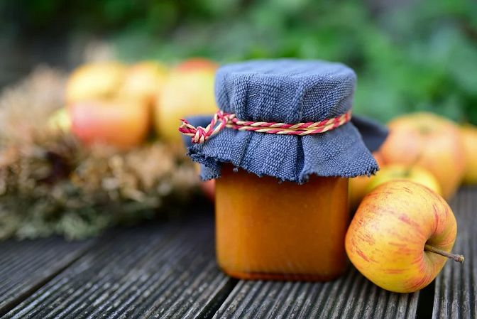 konfitura z jabłek